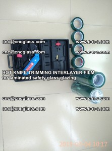 HOT KNIFE FOR TRIMMING INTERLAYER FILM for laminated safety glass glazing (12)