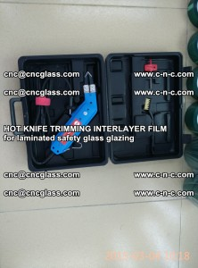 HOT KNIFE FOR TRIMMING INTERLAYER FILM for laminated safety glass glazing (18)