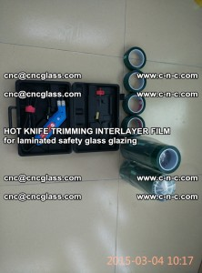 HOT KNIFE FOR TRIMMING INTERLAYER FILM for laminated safety glass glazing (2)