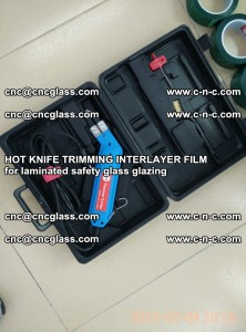 HOT KNIFE FOR TRIMMING INTERLAYER FILM for laminated safety glass glazing (21)