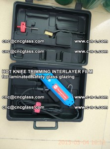 HOT KNIFE FOR TRIMMING INTERLAYER FILM for laminated safety glass glazing (27)