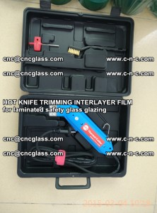 HOT KNIFE FOR TRIMMING INTERLAYER FILM for laminated safety glass glazing (28)