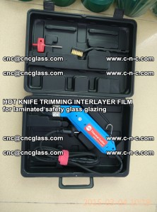 HOT KNIFE FOR TRIMMING INTERLAYER FILM for laminated safety glass glazing (29)