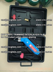 HOT KNIFE FOR TRIMMING INTERLAYER FILM for laminated safety glass glazing (31)