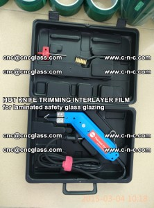 HOT KNIFE FOR TRIMMING INTERLAYER FILM for laminated safety glass glazing (33)