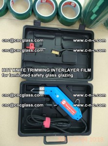 HOT KNIFE FOR TRIMMING INTERLAYER FILM for laminated safety glass glazing (34)