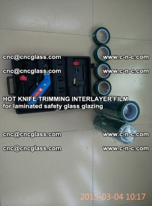 HOT KNIFE FOR TRIMMING INTERLAYER FILM for laminated safety glass glazing (5)