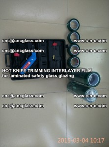 HOT KNIFE FOR TRIMMING INTERLAYER FILM for laminated safety glass glazing (7)