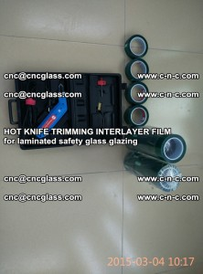 HOT KNIFE FOR TRIMMING INTERLAYER FILM for laminated safety glass glazing (8)