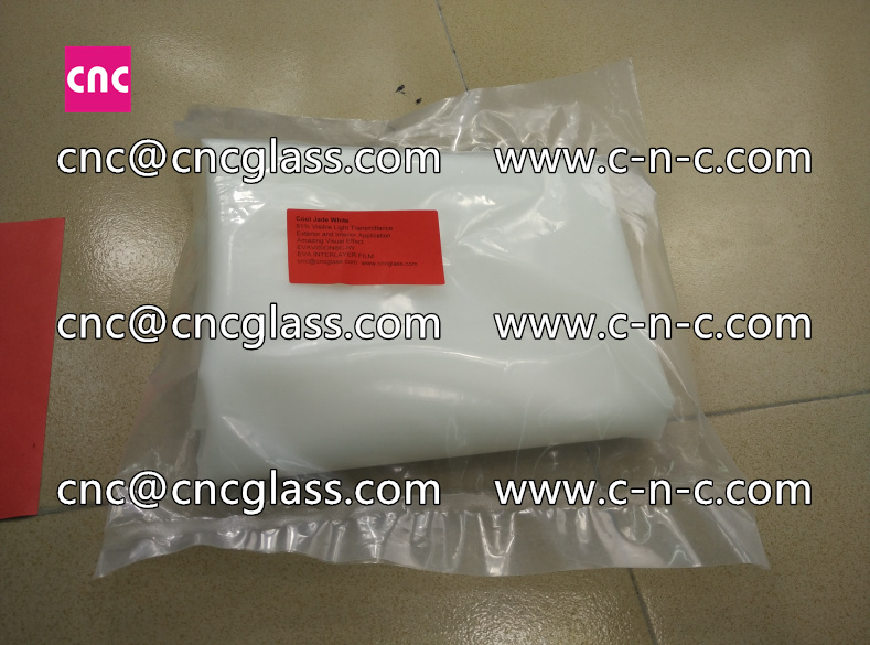 White series of eva glass interlayer film for safety laminated glass  (48)