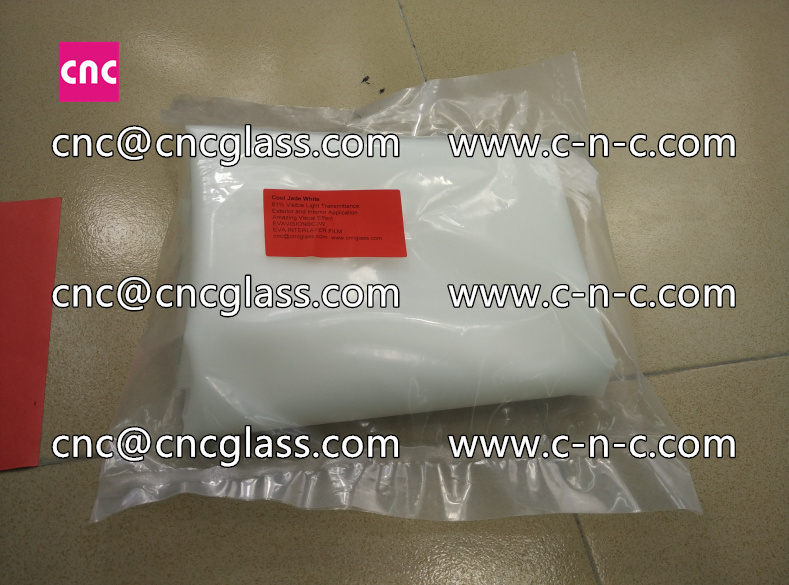 White series of eva glass interlayer film for safety laminated glass  (51)