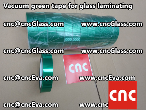 polyester-green-tape-for-safety-glazing-2